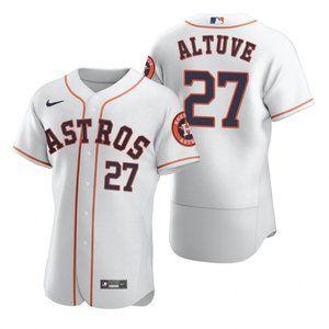 Houston Astros Jose Altuve White 2020 Jersey
